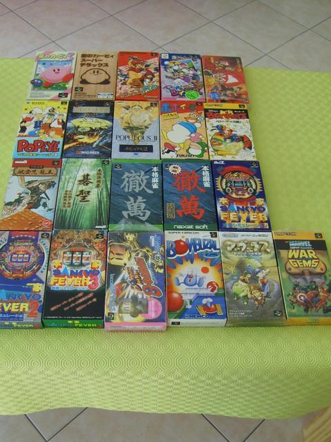 intégrale Super Famicom & Virtual Boy en images
